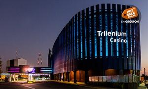Trilenium Casino Tigre: $270 en vez de $540 por picada + bebida para dos  + $300 de jugadas gratis en Trilenium Casino Tigre