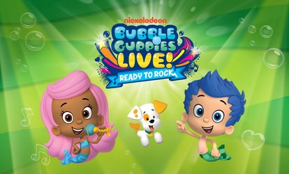 image for Bubble Guppies Live! Ready to Rock on Saturday, April 28, at 2 p.m. or 5:30 p.m.