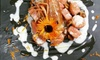 Ristorante La Barchetta - Mozzo: Menu pesce di 4 portate con bottiglia di vino per 2 o 4 persone al Ristorante La Barchetta di Mozzo (sconto fino a 69%)