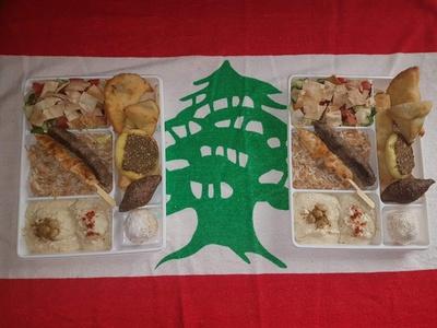 Plateau libanais en 3 services pour 1 ou 2 personnes dès 12 € chez Allo Beyrouth