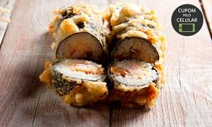 Happiness Sushi: Happiness Sushi -: combo de 30 unidades de Hot Philadelphia (sabor à escolher)