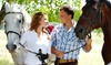 Pure Horse Play Equestrian Center and Resort - Country Club Estates: Couple's Sunset or Massage Horseback-Riding Package from Pure Horse Play (Up to 58% Off)