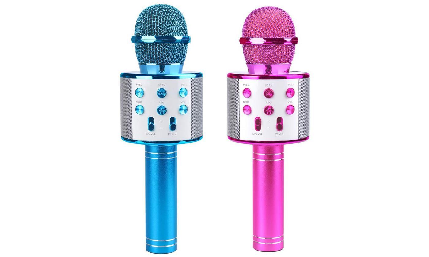Bluetooth Wireless Karaoke Microphone