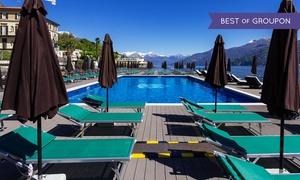 Lido di Cadenabbia: Ingresso alla piscina galleggiante e apericena in terrazza al Lido di Cadenabbia sul Lago di Como (sconto fino a 56%)