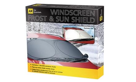 AA Frost and Sun Windscreen Shield