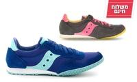 נעלי אופנה saucony לנשים - משלוח חינם