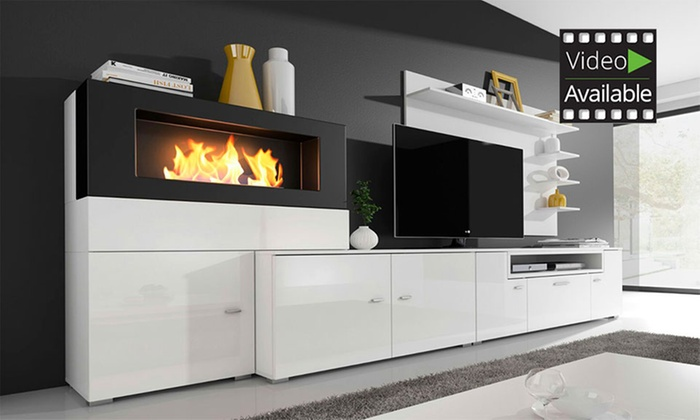 Olympo Wohnzimmer Kamin Groupon Goods
