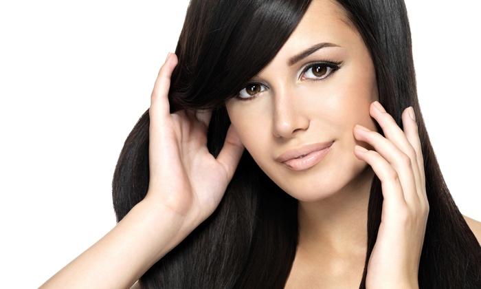 Paige @ Mai Mira Salon - South Baton Rouge: Haircut and Straightening Treatment from Paige @ Mai Mira Salon (65% Off)