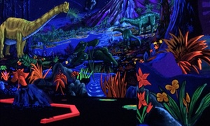 Round of Mini Golf for Two or Four at D&D Black Light Mini Golf (Up to 50% Off)