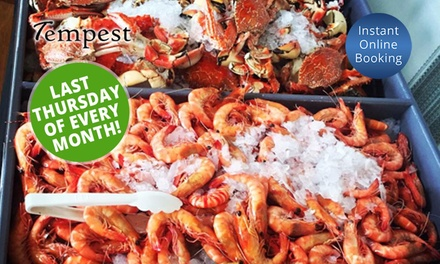 All You Can Eat Seafood Buffet With Gl 65 Or A Bottle Of Wine 119 At Tempest Restaurant Up To 178 Value