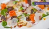 L' Autre Pied - Fitzovia: Gourmet Vegetarian Menu Five-Course Vegetarian Tasting Menu for One, Two or Four at L'Autre Pied (50% Off)