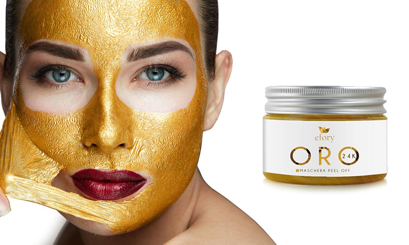 Hyaluronic Acid and 24k Gold Peel-Off Mask Efory Cosmetics