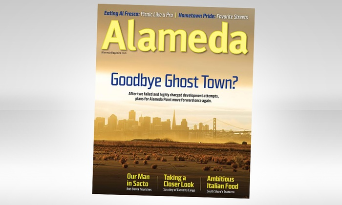 Alameda Magazine: $10 for a One-Year Subscription to Alameda Magazine ($20 Value)