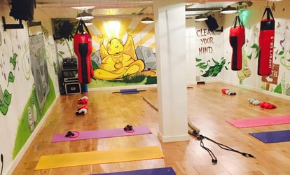 image for Five Mix and Match Sessions of Hot Fitness 45 and Hot Yoga at 121 Urban Hot Yoga (73% Off)
