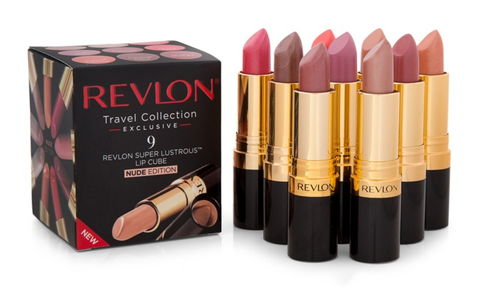 Revlon 9 Piece Nude Lip Cube Set Groupon