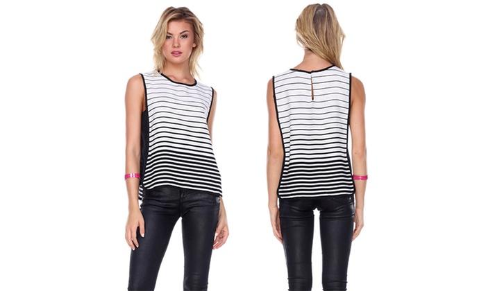 Women's Striped Tank Top