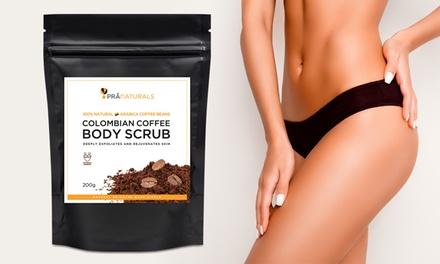 PraNaturals Coffee Body Scrub