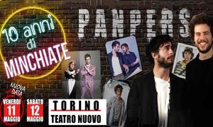 PanPers, Teatro Nuovo, Torino: PanPers - L'11 e il 12 maggio al Teatro Nuovo di Torino (sconto 40%)