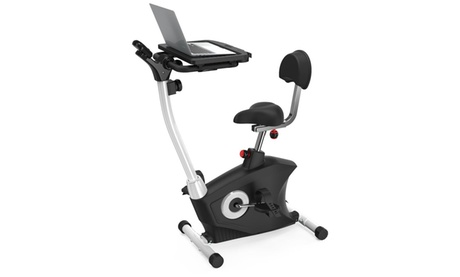 Upright Exercise Bike with Laptop Tray ff70a4ca-3994-11e7-82b0-00259069d7cc