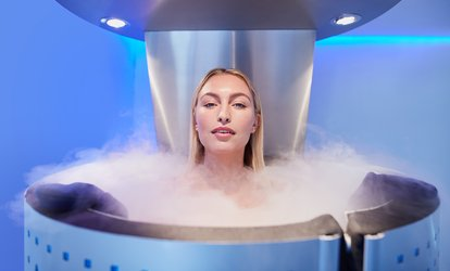 image for One, Three, or Five Whole-Body Cryotherapy Sessions at Blue32 (Up to 52% Off)