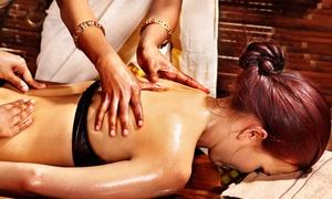 Tiki'Bien-Être: Modelage 5 en 1, relaxation ou à 4 mains pour 1 ou 2 personnes à 24,90 € chez Tiki'Bien-être