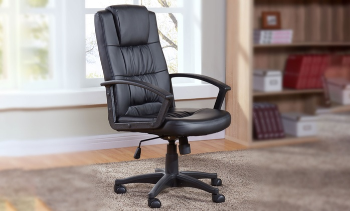 Basic Reclining Office Chair in Choice of Colours for £59.99 With Free Delivery