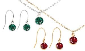 Bijoux Ah! Jewellery fabriqués avec des Cristaux Swarovski®