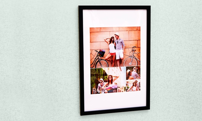 """Collage.com: 8""""x10"""", 11""""x14"""", or 16""""x20"""" Custom Framed Print from Collage.com (Up to 77% Off)"""