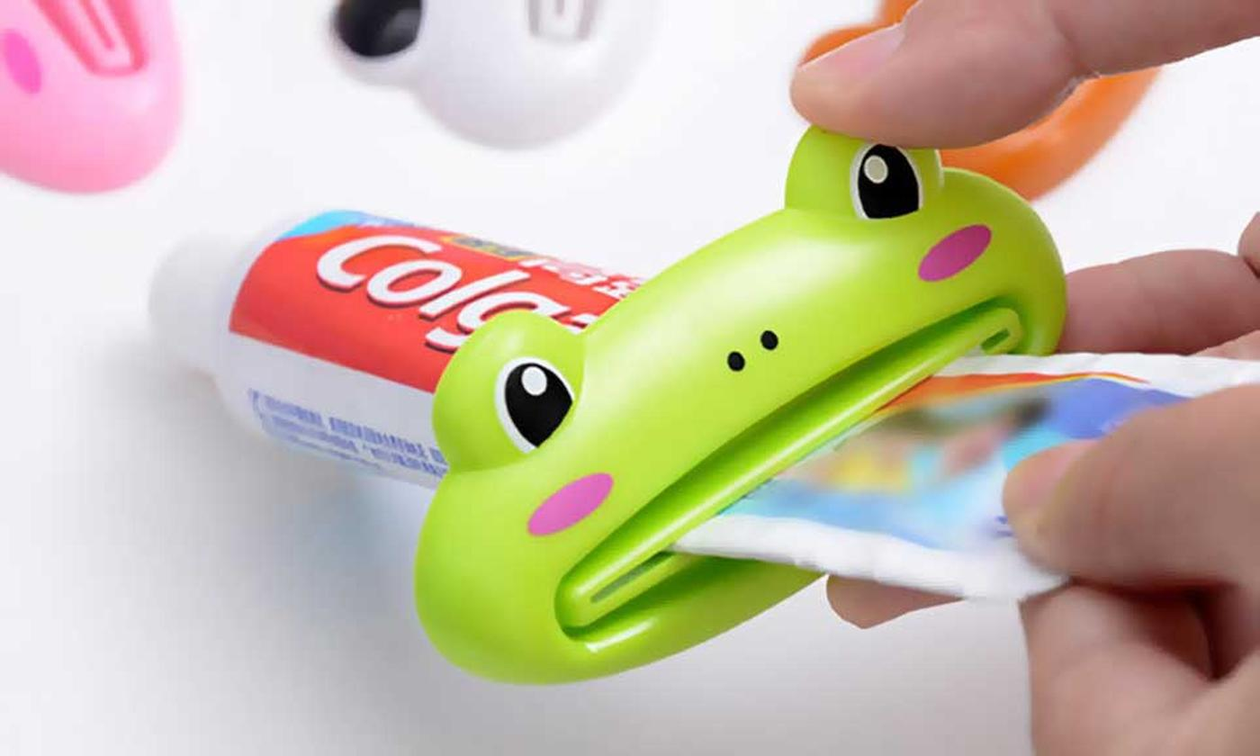 One, Two or Four Toothpaste Tube Squeezers in Choice of Design