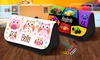 Dinkleboo: One, Two, Three, or Four Personalized Pencil Cases from Dinkleboo (Up to 65% Off)