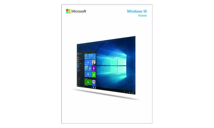 Microsoft Windows 10 Home Downloadable Software with OEM Key