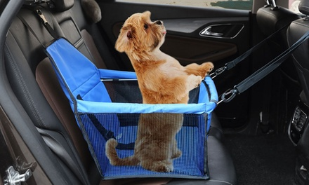$16.95 for a Pet Car Booster Seat Carrier