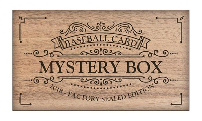 Baseball Mlb Hobby Box 2018 Factory Sealed Nbl Edition Mystery Deal