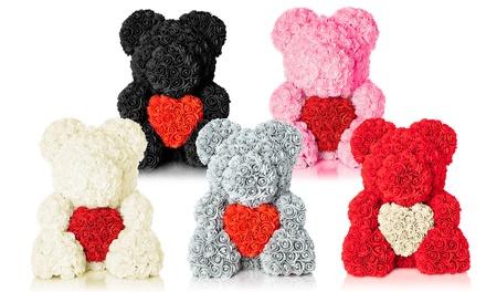 The Forever Handmade Rose Petal Teddy Bear
