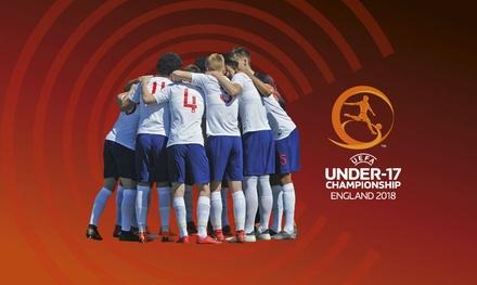 England v Israel, UEFA European Under17 Championship, 4 May at Chesterfield FC *