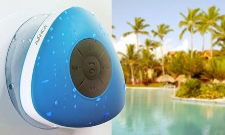 Wasserfester Bluetooth Shower-Speaker mit Freisprecheinrichtung in der Farbe nach Wahl