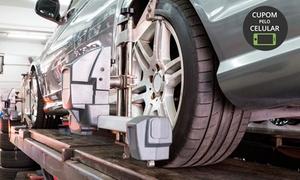 Boostcar Centro Automotivo: Alinhamento 3D (opção com balanceamento e check-list de 25 itens) no Boostcar Centro Automotivo - Vila Olimpia