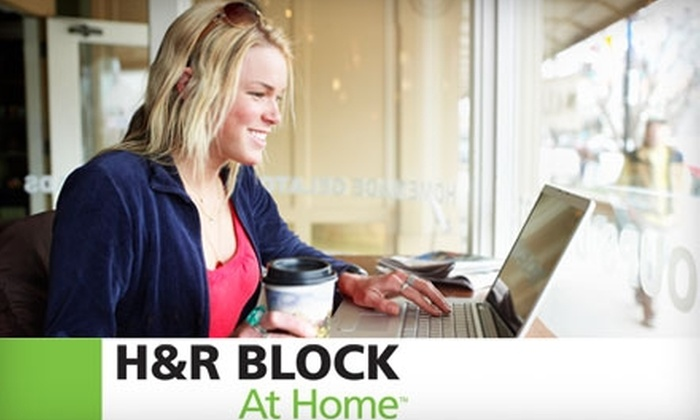 H&R Block: $15 for $30 Worth of Online Tax-Preparation Products from H&R Block