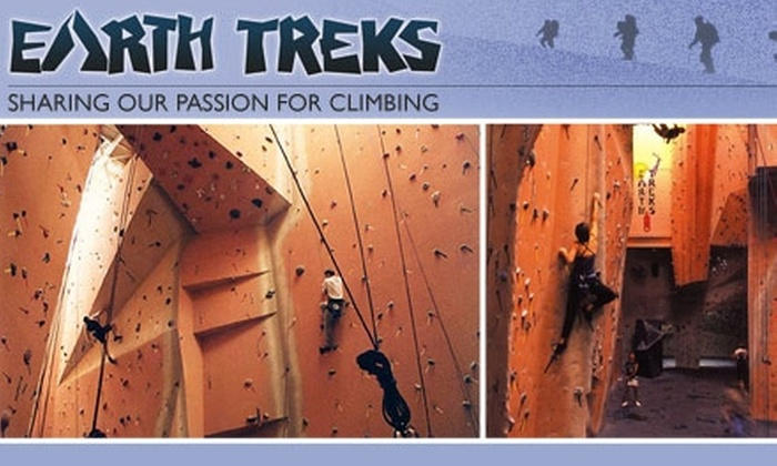 Earth Treks  - Multiple Locations: $35 for an Introduction to Climbing Course at Earth Treks