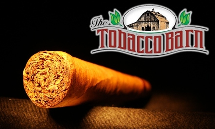 Tobacco Barn - Lake Forest: $10 for $20 Worth of Tobacco Products Plus a One-Month Cigar-Lounge Membership at Tobacco Barn in Lake Forest ($47 Total Value)