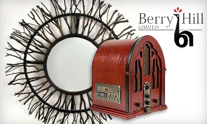 Berry Hill Limited - St. Thomas: $20 for $40 Worth of In-Store Merchandise at Berry Hill Limited