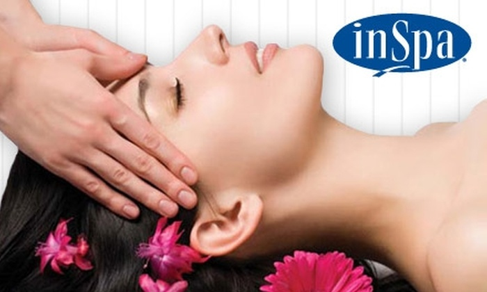 InSpa - Multiple Locations: $55 Deep-Tissue, Swedish, or Signature Massage at InSpa