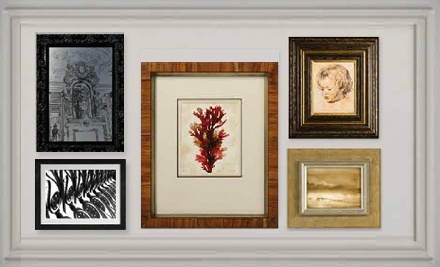 $100 Groupon to The Great Frame Up - The Great Frame Up in Madison