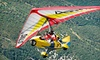 Piedmont Aerosports - Shady Grove: 100-Mile Powered Hang-Gliding Adventure for One or Two from Piedmont Aerosports in Advance (Up to 52% Off)