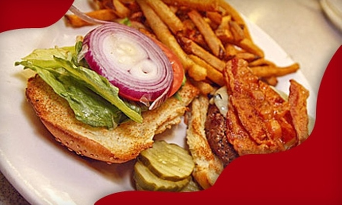 Main Street Bar & Grill - Weymouth Town: $20 for $40 Worth of Upscale Tavern Fare at Main Street Bar & Grill in Weymouth