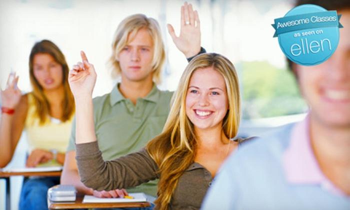 Arkansas Extended Learning Center - Multiple Locations: $24 for $49 Toward Classes at Arkansas Extended Learning Center