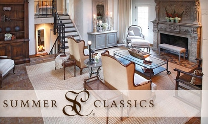 Summer Classics - Graymoor-Devondale: $25 for $50 Toward Home Furnishings and Holiday Items at Summer Classics