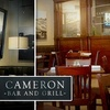 52% Off at Cameron Bar and Grill