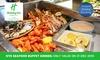 NYE Seafood Buffet Dinner w/ Wine