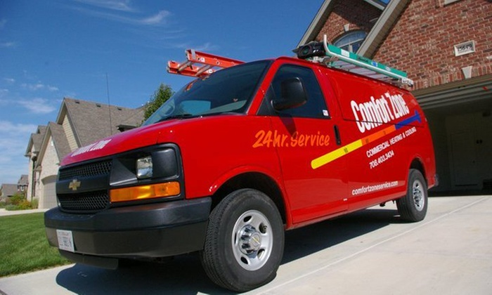 Comfort Zone - Orland Park: Furnace Tune-Up and Safety Inspection from Comfort Zone (45% Off)
